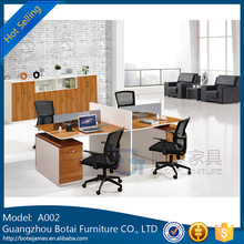 2017 Modern Design Double Seats Office Workstation Desk With Great Price