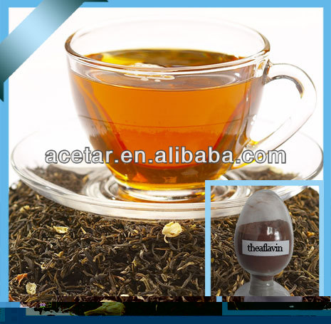 Black Tea P.E with theaflavin content benefinal for Intestinal