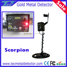 Gold Detecting Device Scorpion Ground Metal Detector, High Depth Gold Detector with LED indicator
