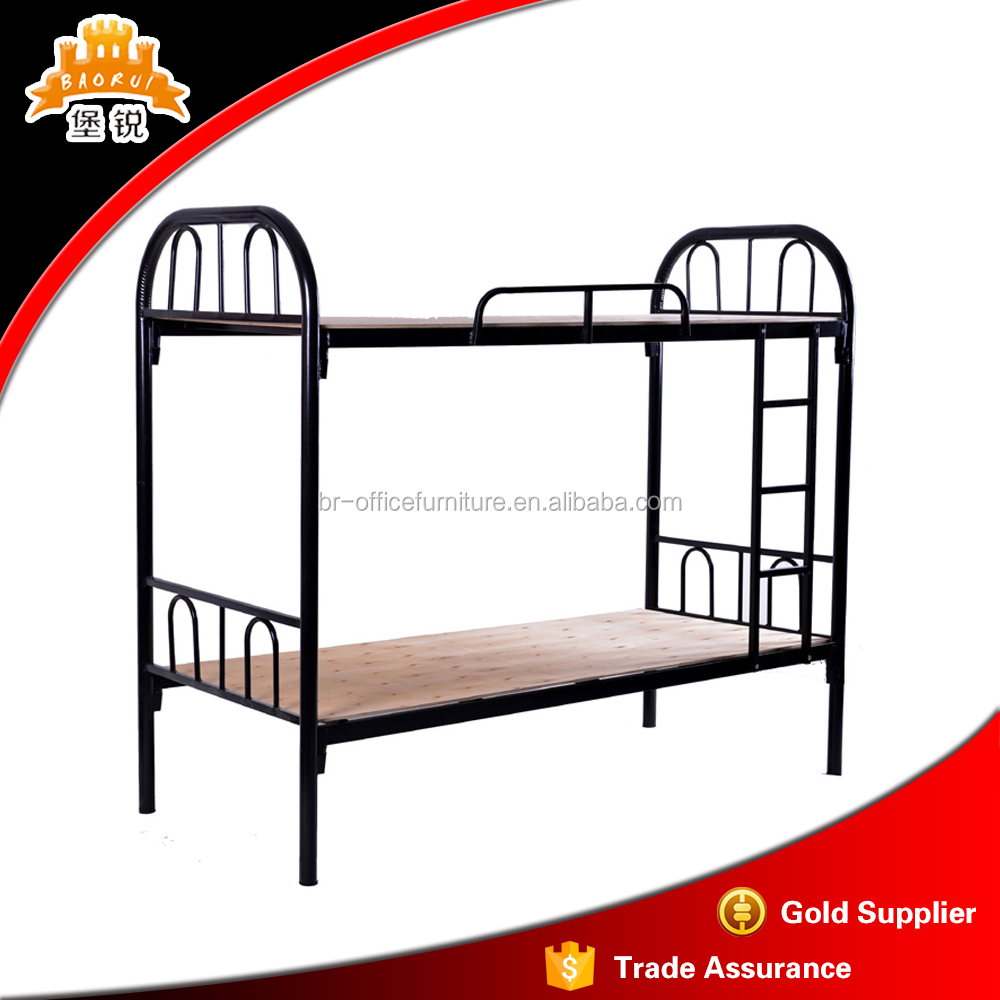 Modern Cheap Price Double Deck Bunk Bed Military Metal