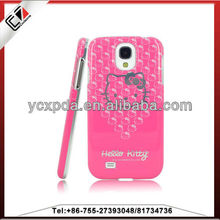 For samsung galaxy s4 hello kitty mobile phone case 3D
