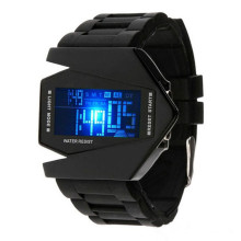 Wholesale Fashion Men Sport Led Silicone Wrist Watch