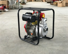 FSH(WP30D)Kama engine diesel water pump 3 inches with air cooled 4-strokes diesel engine
