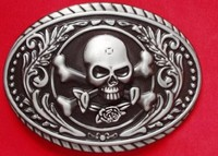 Custom belt buckle with different style skull logo and different shape lion head logo wholesale with factory price