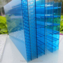 Competitive hot product hollow polycarbonate roofing pc triplewall sixwall sheet