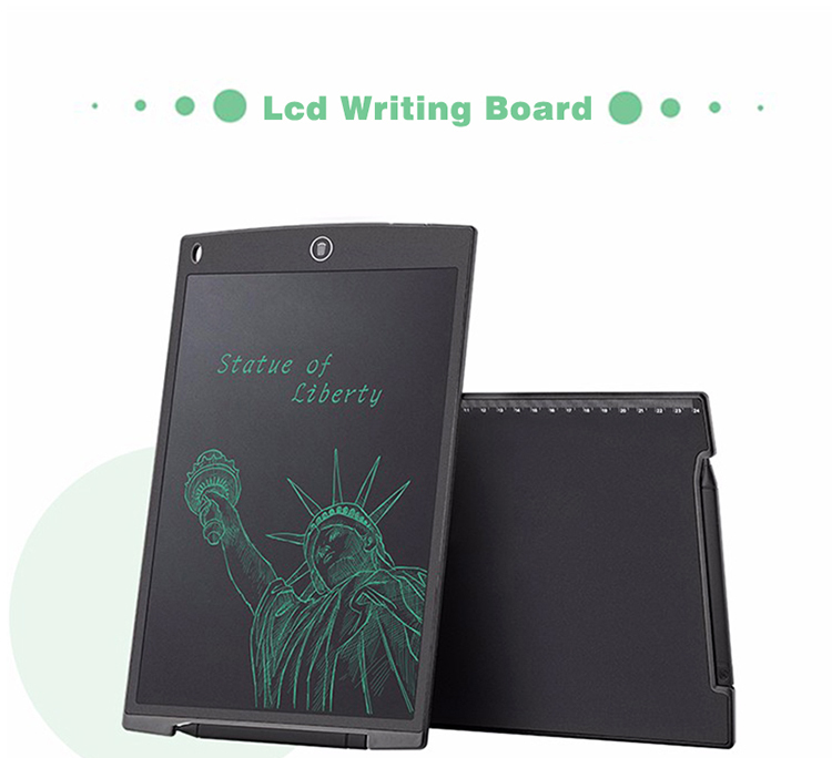 New design student LCD writing tablet 8.5 inch drawing passive pen write erase