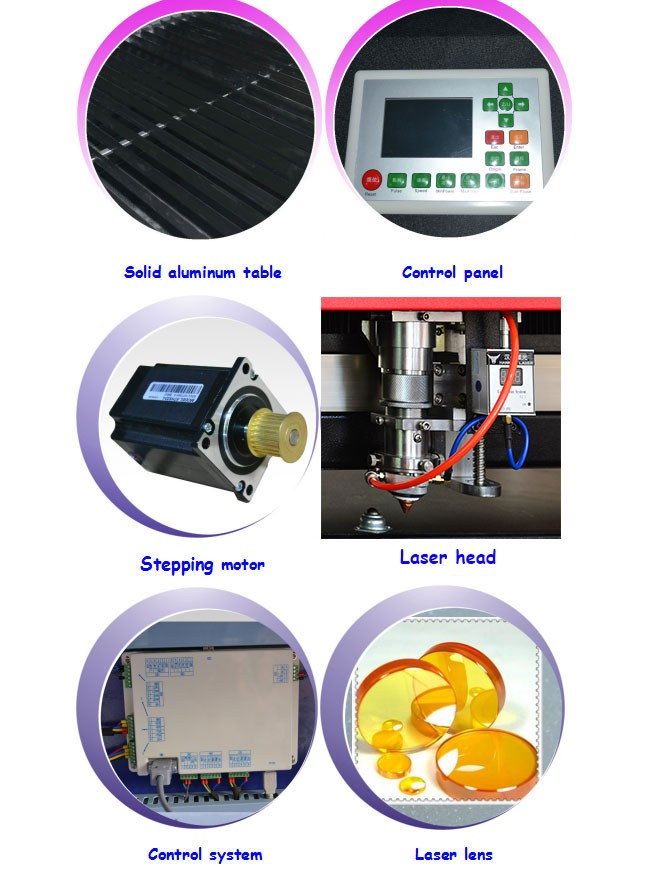 HQ-1325 hybrid CO2 engraver 150w laser cutting machine for metal and non metal