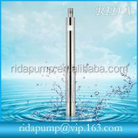 deep well submersible water pump machine spare parts
