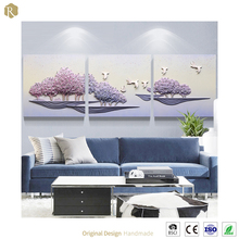 C6098A Purple Charm Special Color Home Wall Murals For Interior Decoration