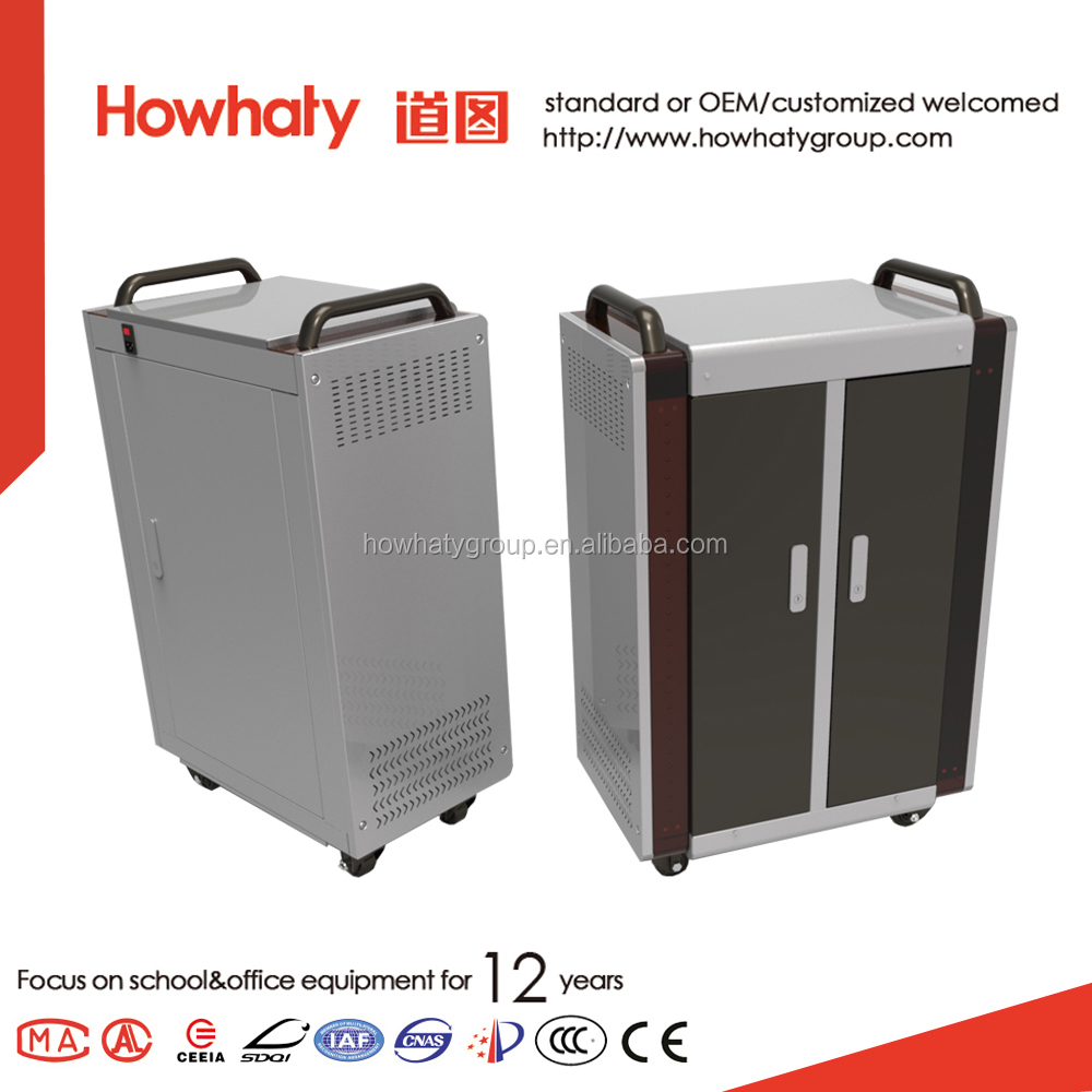 Laptop and tablet charging cabinet and storage cart with chips module imported from US