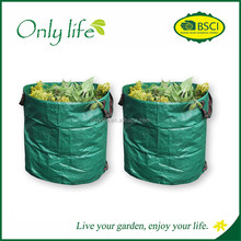 Onlylife BSCI Reusable Yard Waste Bags Lawn and Leaf Bags Pop-up Gardening Bag