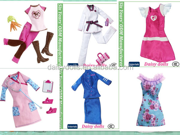 Wholesale unique Barbiee Doll Clothes