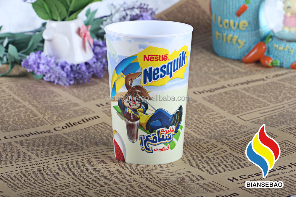 Cold Changing Cup Nestle Products