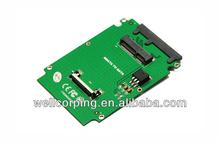 "Intel definition Solid State Disk Card Adapter | Mini PCIe PCI-e mSATA 3x5cm SSD to 1.8"" Micro SATA Converter"