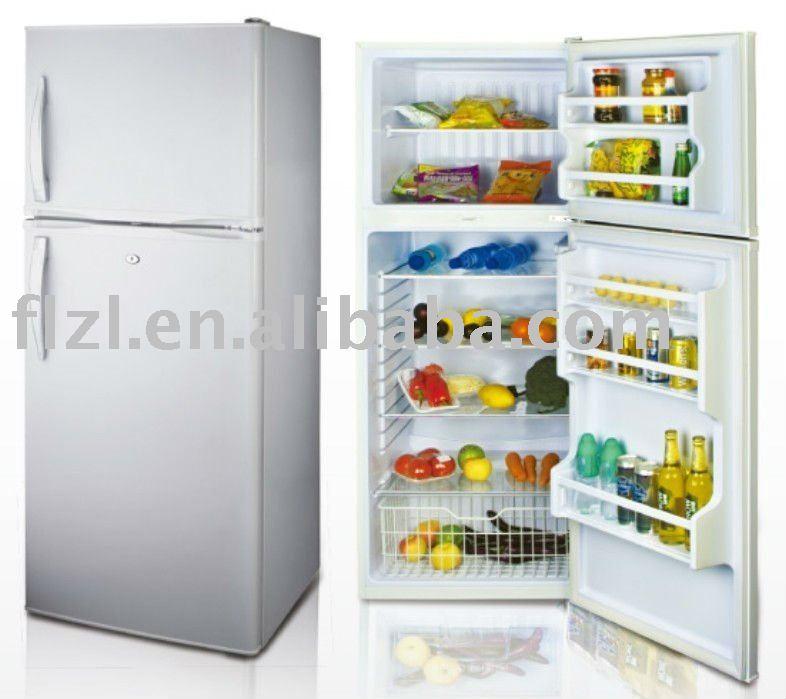 Nevera refrigerador m s grande casa refrigerador de doble puerta de la nevera refrigeradores - Nevera doble puerta ...
