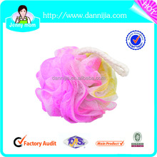 Shower ball bath mesh sponge