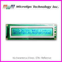 16x2 Character STN LCD Module