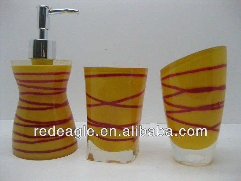 Baños Para Nuevo Ano:2013 año nuevo accesorios de baño conjuntos de baño polyresin