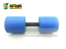 Aerobic Mini Kids Barbell,water Foam Resistance Dumbbell,Cheap
