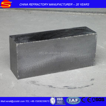 Refractory magnesia carbon brick for ladle