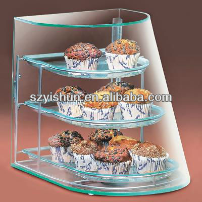 customization 3-TIER ELITE DISPLAY CASE REAR ACCESS ACRYLIC