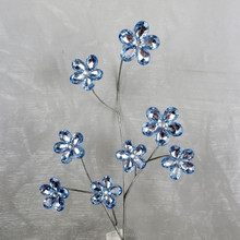 "28"" Decorative Acrylic Flower Spray Acrylic Bead Sprays"
