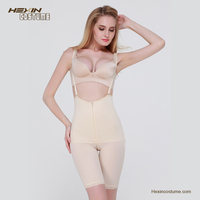 Zipper Strappy Functional Corset Butt Lift Shapers