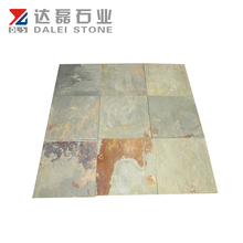 Rusty rough slate wall tile random size