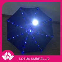 solar led the stars led umbrella light
