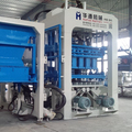 QT8-15 Good Quality intelligent hollow block machine ,low price block making machine sell in Africa
