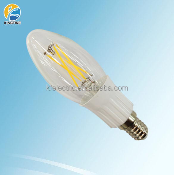 dimmable e14 e12 cob filament lightbulb 110vac/230vac 1.8w 2w 3w 4w filament candle bulb