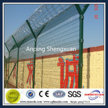 Anti-intruder High Security Razor Wire Mesh Fence for airport / seaport / prison