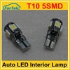 most popular interior light T10 5smd led factory price long warranty