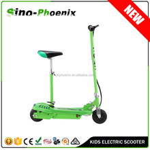 New Green Kids 120w Electric Scooter with seat (PN-ES8015S )