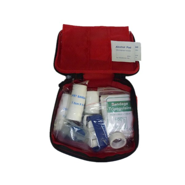 HENSO Waterproof Nylon Travel First Aid Kit