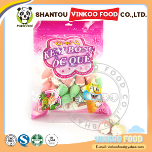 wholesale strawberry shape cute marshmallow candy