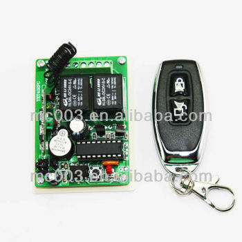 12V 433MHz rolling code garage door remote control system 402pc