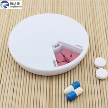 mini white pill box