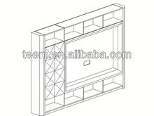 2014 Divany new classic lcd plasma wall mount tv cabinets cabinet designs for living room LS-524