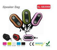 OEM factory all kinds of stereo speakers case/Novelty Phone Speaker Case/New Design Wallet Speaker Case