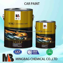 Auto body acrylic 2k refinish paint for car repair