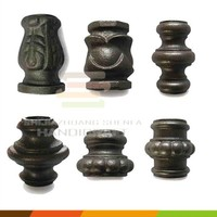 14mm 16mm 20mm Metal ornaments accessories cast iron stud for fence and gate