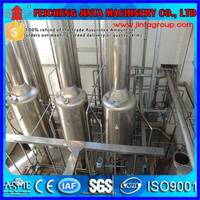 vacuum evaporation vapor compression waste water evaporation plant