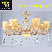 Luxury European Style Flower Lampshade Ceiling Light China Factory