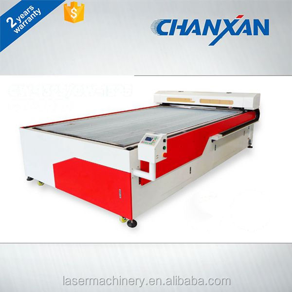 Chanxan automatic fabric large format laser cutting machine in China