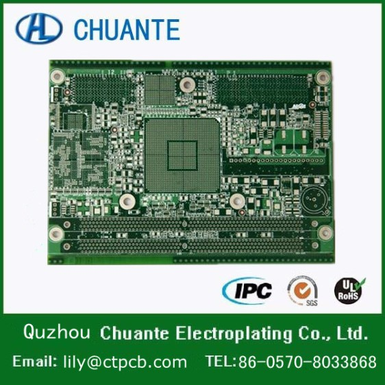 China pcb led powerful metal detector circuit board,dvr pcb board