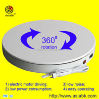 shop display electrical turntable platform 360 degree display advertising equipment for electronic lock