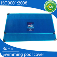 Cold-resistant easy to clean plastic swimming solar pool cover