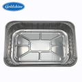 Oval 8011 aluminum foil container kitchen use disposable