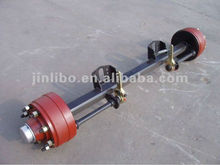 trailer parts use 8 ton agriculture axle